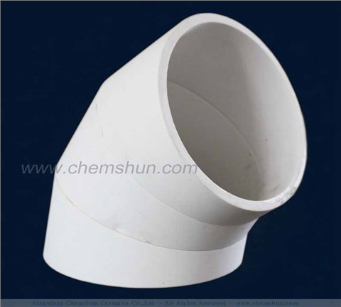 Chemshun Ceramic Elbow Bend Pipe