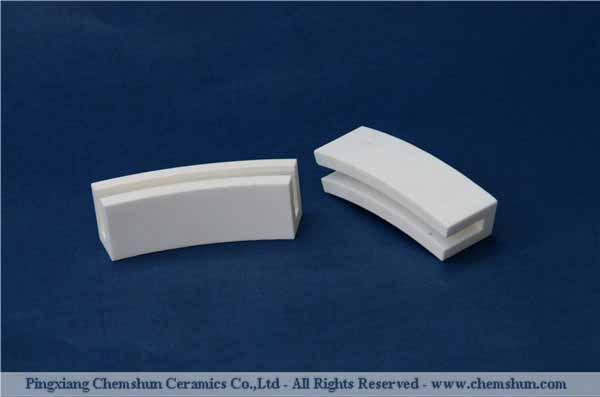 Pingxiang chemshun abrasion wear resistant ceramic lining