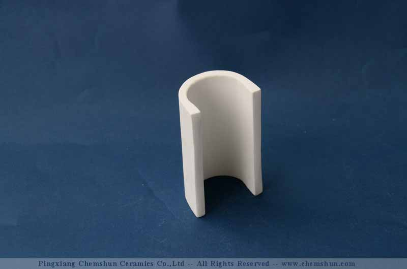 Alumina Ceramic Irregular Pipe Tube