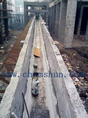 chemshun alumina linings for steel mill