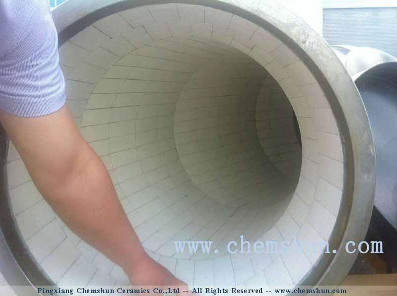 chemshun alumina cearmics linings