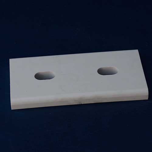 Welded alumina ceramic lining tile