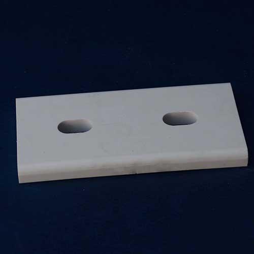 Welded alumina ceramic lining tile