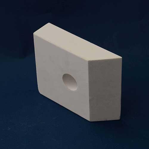 trapezoidal alumina tile linings