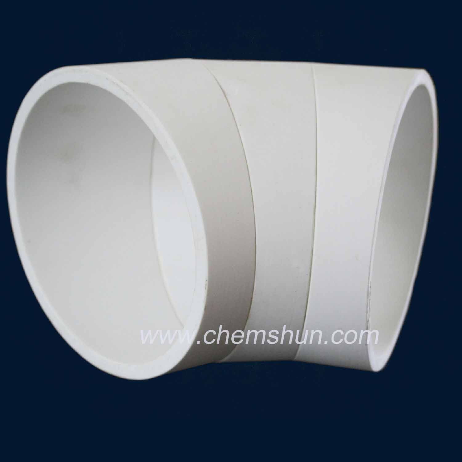 Pingxiang chemshun ceramics bend pipe liner from industrial ceramics manufacturers