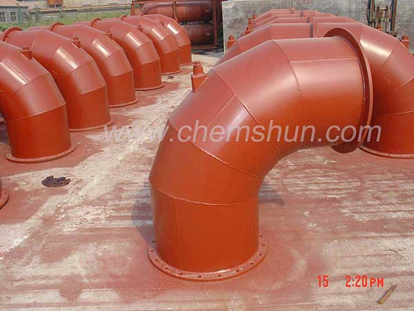 pingxiang  chemshun wear material replacement parts from industry ceramic company