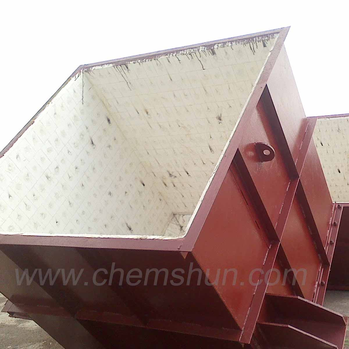Alumina Ceramics Lined Hopper