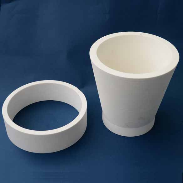 Chemshun Wear resistant cyclone pipe liner  (also called ceramic tubes or ceramic cylinder rings) mainly include elbows, straight pipes, tees, reducer pipes, etc