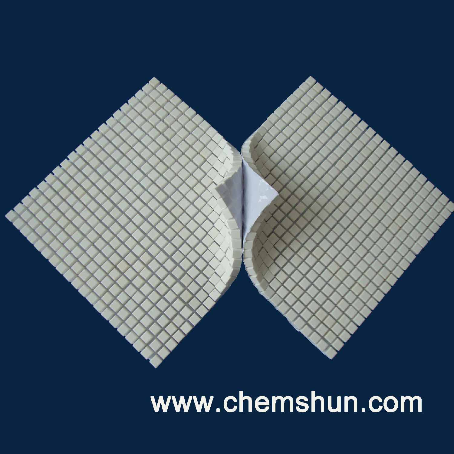 Ceramic Cube Sheet In Adhesive Paper