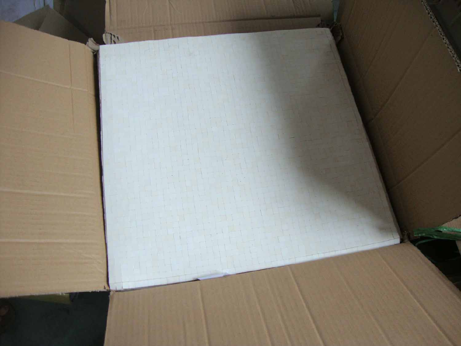 Ceramic Cube Sheet In Adhesive Paper package