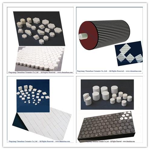 Chemshun wear resistant ceramic application