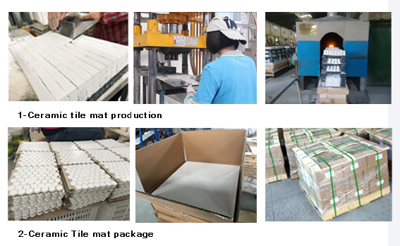 Wear Ceramic Lining Sheet production and package: