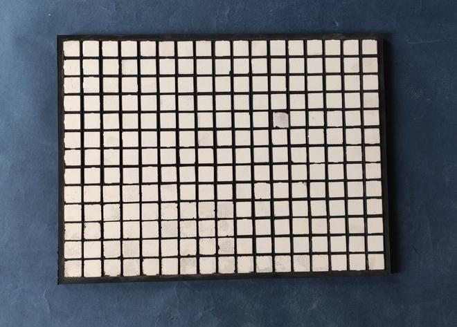wear-resistant ceramic plate