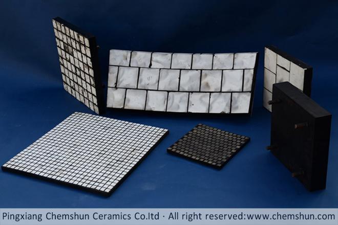 rubber ceramic plate chemshun ceramics