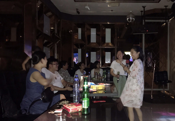 Chemshun party at KTV