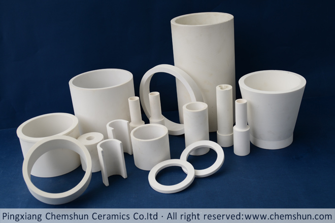 Chemshun tube/pipe liner including alumina ceramic tube/pipe, alumina ring, alumina cyclone and so on.