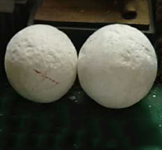 The other manufacturer dry grinding balls