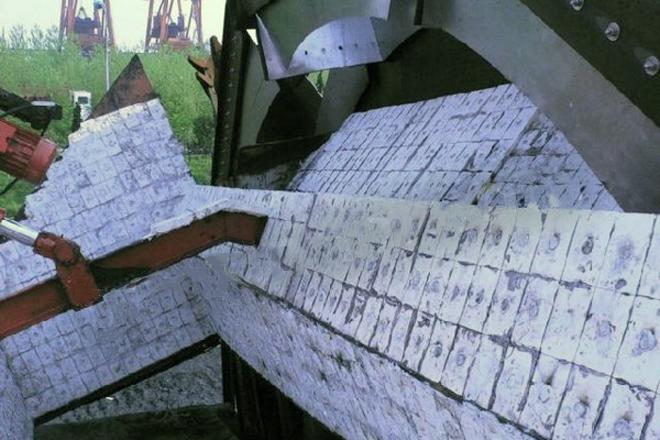 Burket wheel with wear resistant ceramic liner