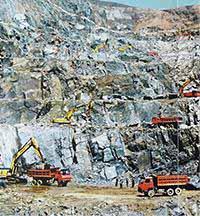 Mining industry
