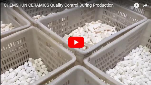 CHEMSHUN CERAMICS Quality Control During Production