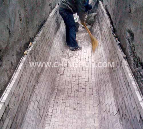 Ceramic Chute Liner