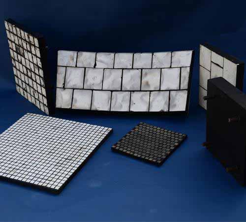 Alumina Ceramic Pipe Abrasion Resistant Tile Lining