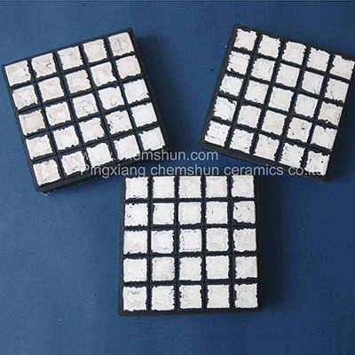 Square Ceramic Rubber Component