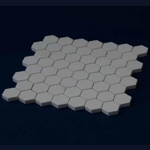 Ceramic Hexagonal Mat