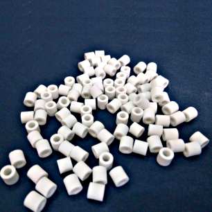 7x7x4mm alumina Ceramic Ring As Benzene Anhydride Catalyst Carrier