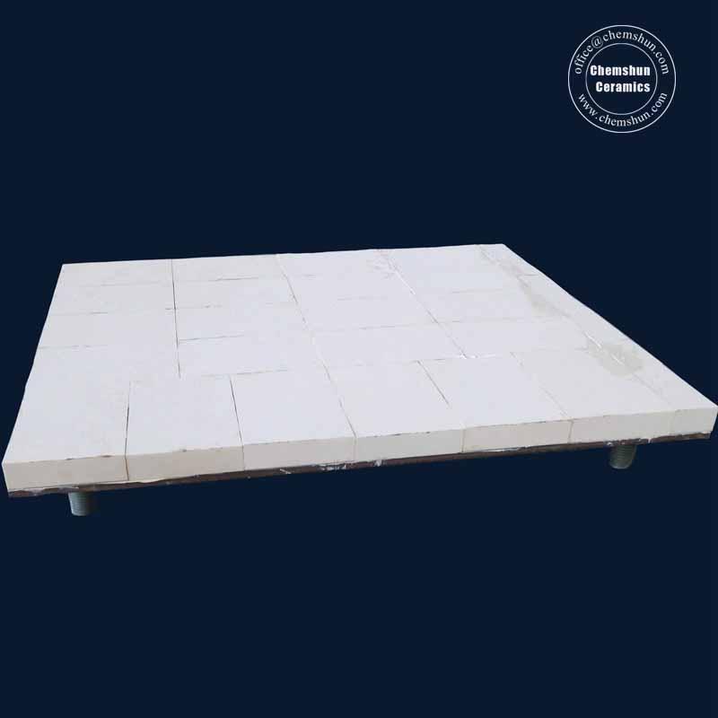 Alumina Ceramics Lined Steel Sheet