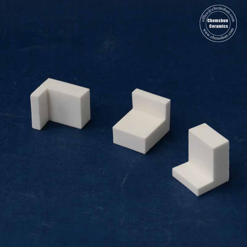 Abrasion Resistant L Shape Ceramics