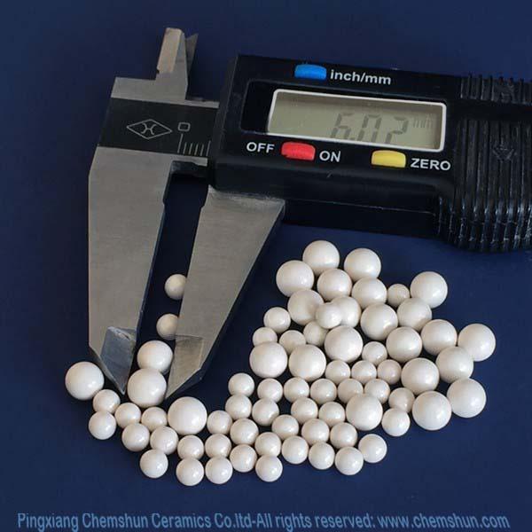 Zirconium Aluminium Silicate Beads