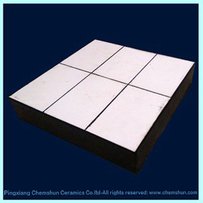 ZTA Ceramic Rubber Sheet